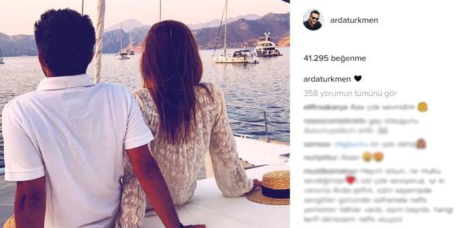 14 Şubat Sevgililer Günü'nde ilk kez sevgilisiyle birlikte çekilmiş bir fotoğrafını Instagram sayfasından paylaştı.